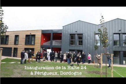 Inauguration de La Halte24