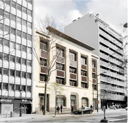 Réhabilitation et transformation, Boulevard de Barbès, Paris 18ème